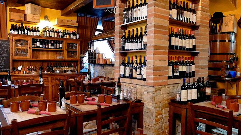 ristorante rustico a genova