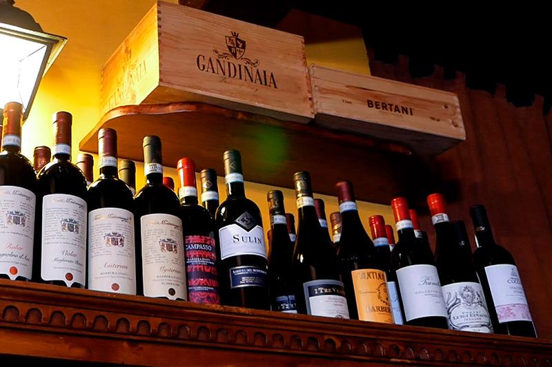 Locanda con vini selezionati vineria genova